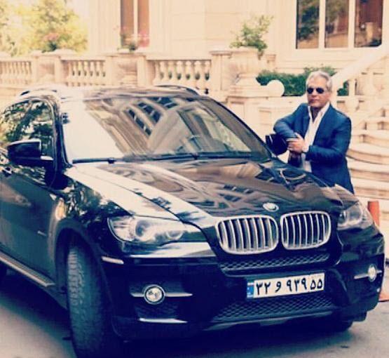 ماشین زیبای مهران مدیری